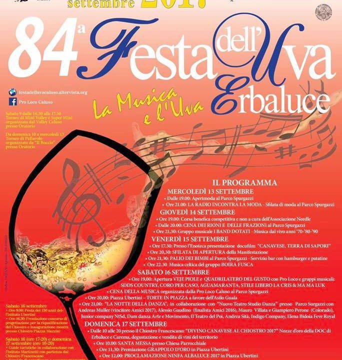 84a Festa dell'Uva Erbaluce